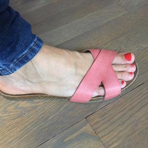 80461dd26e984 Oysho Shoes - 💥Leather Oysho Sandals EUC 6.5